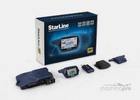 Надежное средство против продвинутых угонщиков – интеллект устройства starline a91 dialog