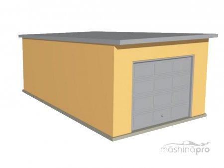 Выбираем крышу для гаража: дешево и сердито!