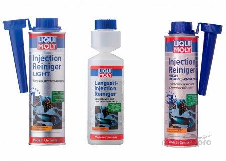 Жидкости для очистки инжекторных форсунок