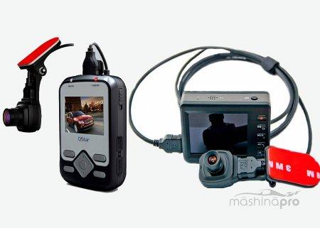 Основные характеристики автомобильных видеорегистарторов, имеющих выносные камеры