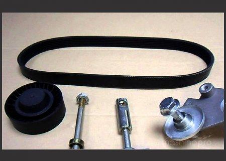 Технология замены привода вспомогательных агрегатов на Lada Kalina