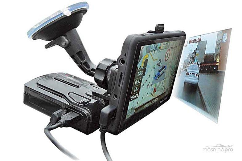 Навигатор антирадар и видеорегистратор