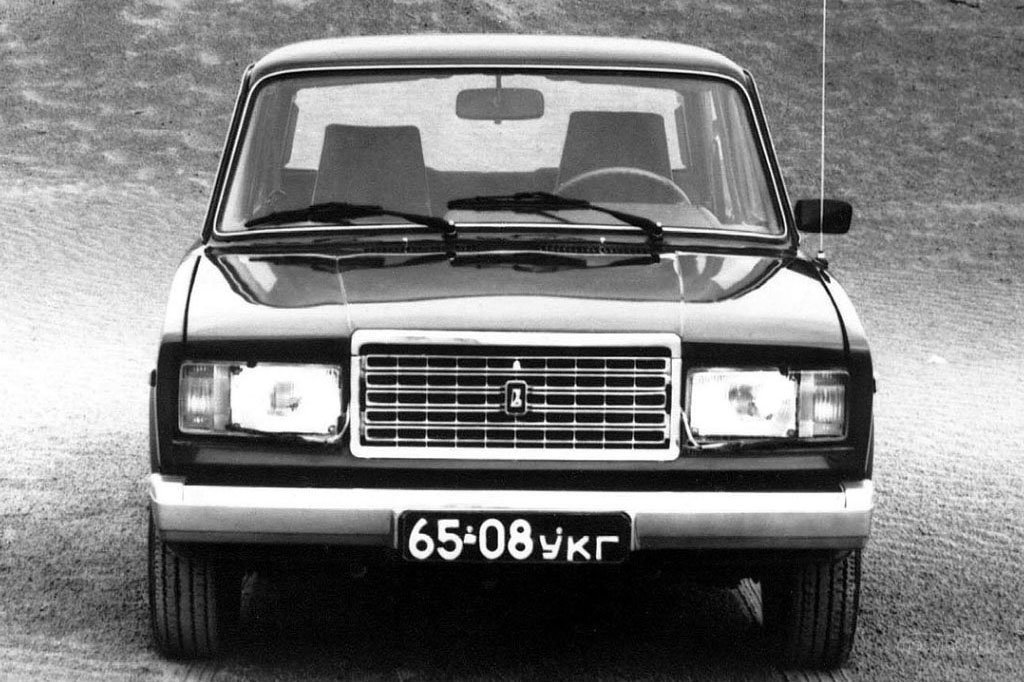 Классический ВАЗ 2107 с
