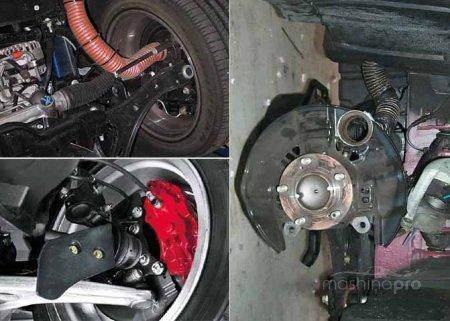 Особенности ремонта и замены тормозной системы у Мицубиси Лансер
