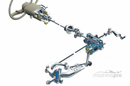 Особенности конструкции рулевого управления автомобиля Газель