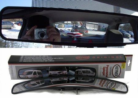 Ситуация за спиной, или Как меняется видимость с установкой панорамного зеркала в машине?