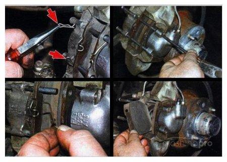 Простой способ, позволяющий самостоятельно перебрать переднюю тормозную систему ВАЗ 2107