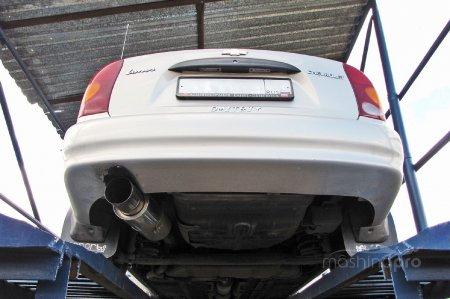Выхлоп на Chevrolet Lanos: особенности конструкции и ресурсы для тюнинга