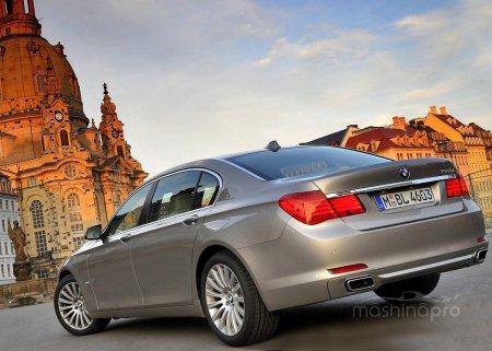 Звезды представительского класса: BMW 750 Li и высокие технологии