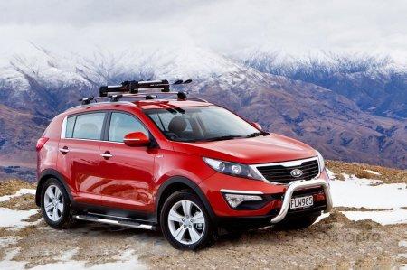 KIA Sportage: преимущества и недостатки бензинового и дизельного двигателя
