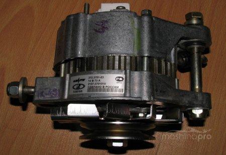 Принципы установки генераторов на автомобилях Жигули