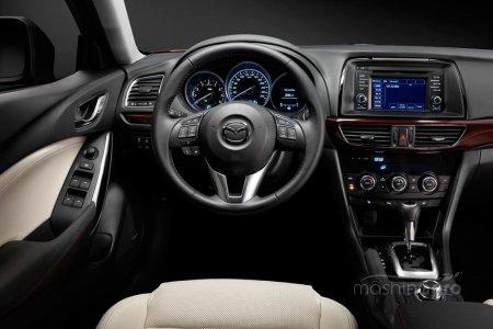 Mazda 6: бодрый характер в солидном исполнении