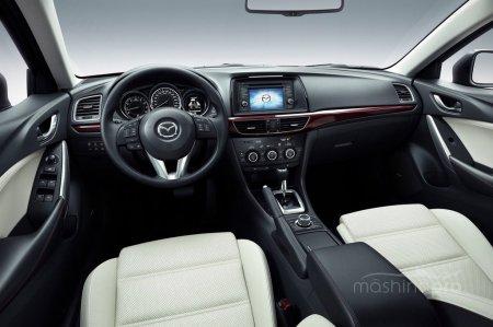 Красивая обертка Mazda 6: а что внутри?