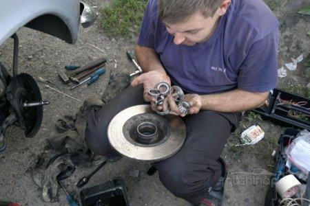 Самостоятельная замена передних подшипников на автомобилях ВАЗ
