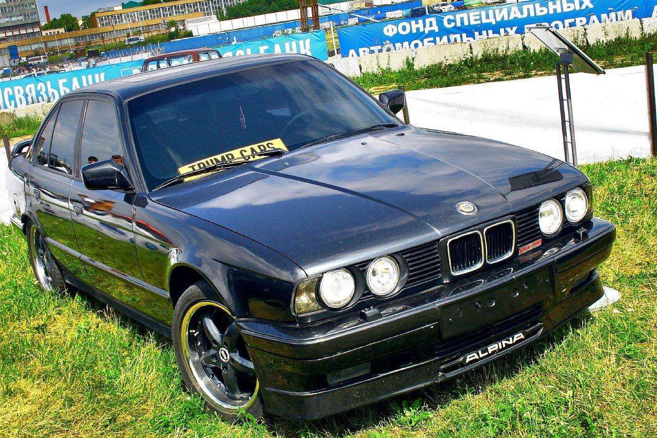 Слагаемые успеха, превратившие в легенду BMW 5 серии 1988 года выпуска 6