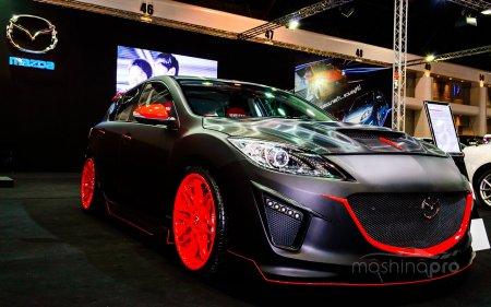 Японское представление автомобиля для водителя: обновленная Мазда 3