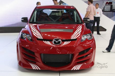 Обзор японского кроссовера Mazda CX-7. Варианты исполнения, комплектации