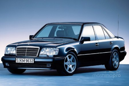 Мерседес W124 – лучший образец автомобильной промышленности