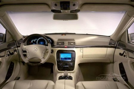 Что привлекает современников в автомобиле Мерседес 220 серии S?