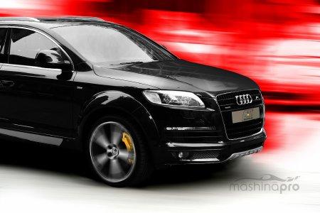 Audi Q7 – автомобиль, в котором никто не заскучает
