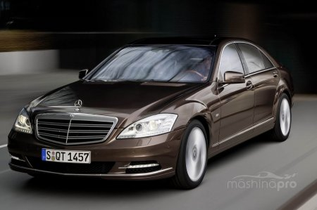 Обзор Mercedes S-class W 221