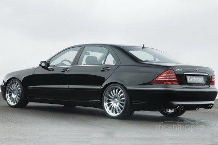 Легендарная модель Mercedes S-class W220