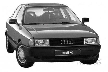 1392051566 small audi 80 80 2.0 e quattro sedan - Ауди 80 В3: техобслуживание и сервис