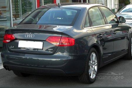 Рассмотрение автомобиля Audi A4 нового поколения (B8)