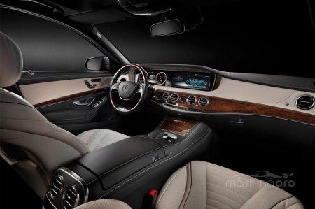Mercedes-Benz S-класса - автомобиль с набором самых передовых новинок в сфере автомобилестроения