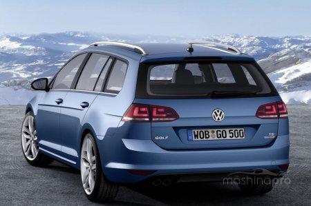 Volkswagen Golf VII Variant - универсальный Гольф