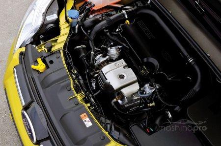 Двигатель Ford Focus 2 путем коррекции программного обеспечения