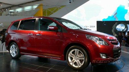Минивэн родом из Японии: основные черты Mazda MPV