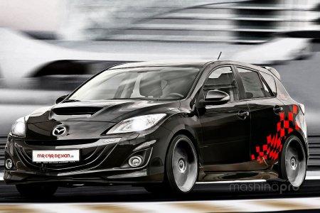 1393285050 small mazda3 mp3 by mr car design 2560x1440 4 - Обзор автомобиля Mazda 3