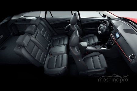 Различные варианты исполнения автомобилей Mazda 6