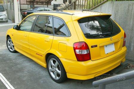 Особенности спортивного Вагона восьмой генерации Mazda Familia