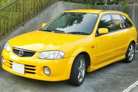 1393330386 small mazda familia 01 - Особенности спортивного Вагона восьмой генерации Mazda Familia