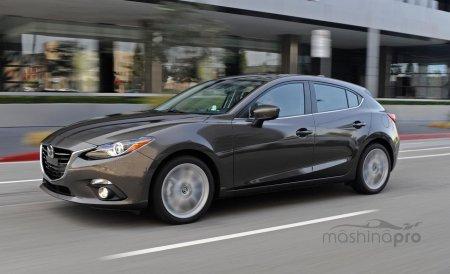 Обновленная версия Mazda 3?
