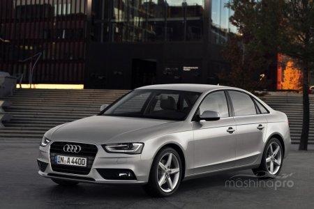 Характеристика седана среднего класса Audi A4