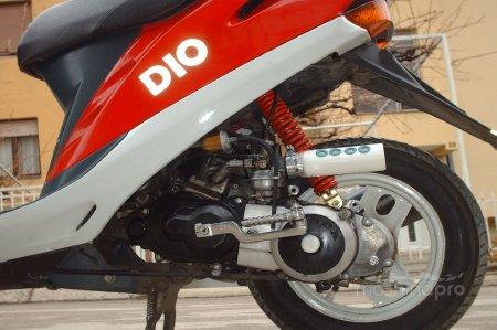 Варианты бюджетного тюнинга скутера Honda Dio AF-18