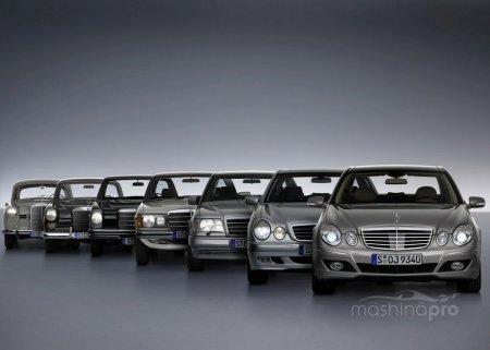 Mercedes Е - class. Модель, покорившая сердца миллионов