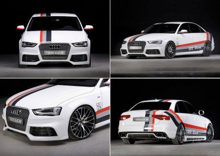 Audi A4 B8 с указанием наиболее интересных характеристик