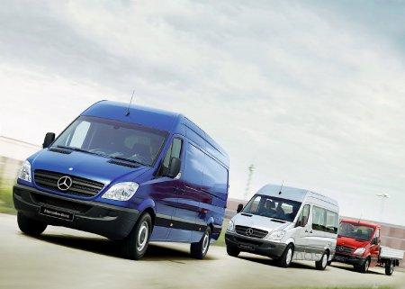 Новинка от Mercedes - рестайлинговая версия Sprinter не оставляет шансов своим соперникам