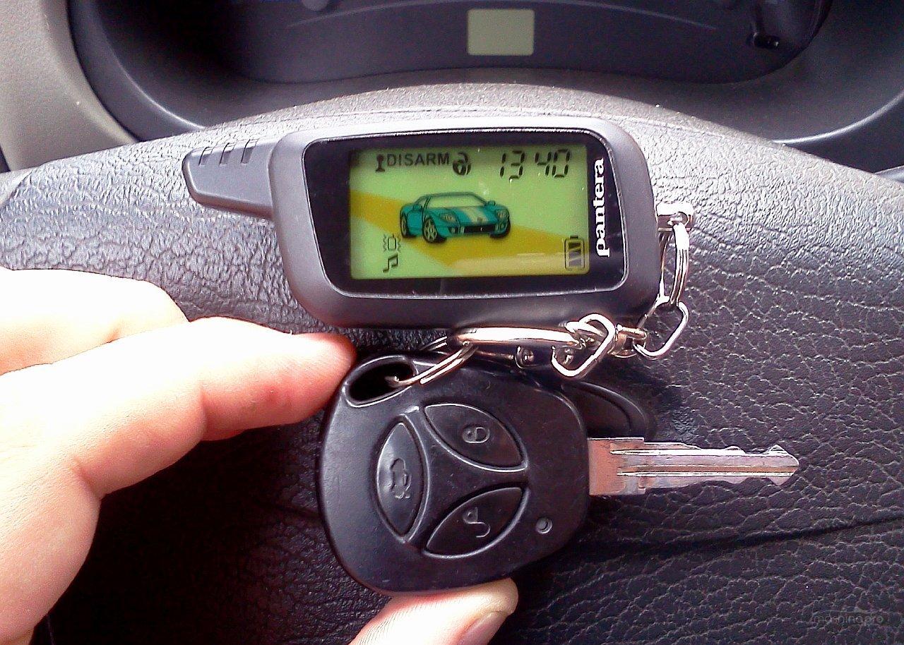 Инструкция к сигнализации пантера с автозапуском