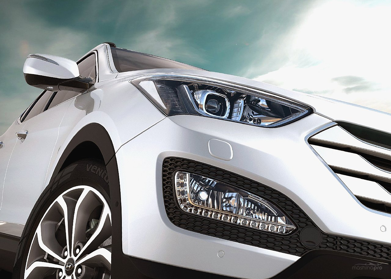 Обновление кроссовера Hyundai Santa Fe пришлось по вкусу многим