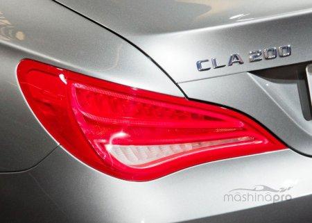 Компактная роскошь – новый седан CLA-Klasse от Мерседес