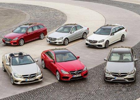 Интеллектуальные и визуальные особенности Mercedes Benz E-Class