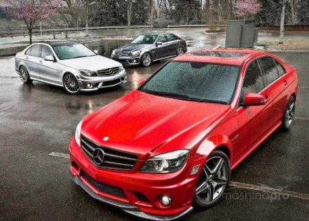 Mercedes W204 C-Класса по сравнению с предыдущей моделью?