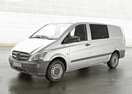 Премиальный грузовой фургон от Mercedes. История, тест-драйв и технические параметры модели