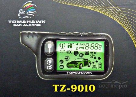 Самостоятельная установка автосигнализации Tomahawk 9010