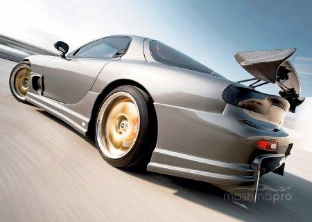 Автомобиль Мазда с роторно-поршневым двигателем: как улучшить экстерьер авто и сделать его уникальным